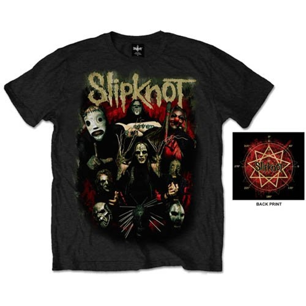 Slipknot - Come Play Dying Unisex Small T-Shirt - Black
