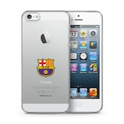 Official F.C. Barcelona Merchandise TPU Clear iPhone 6 Cover