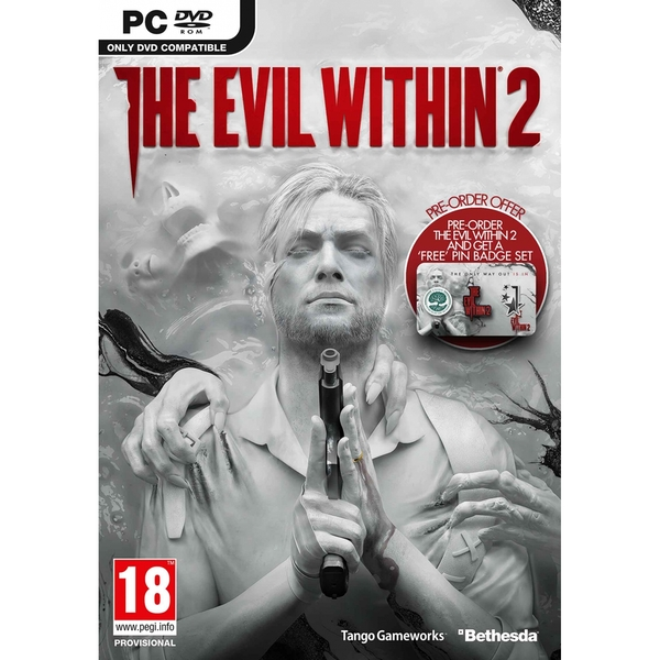 The Evil Within 2 PC Game (with Pin Badge Set)