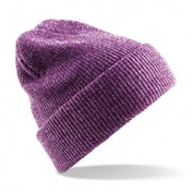 Heather Purple Heritage Knitted Beanie ZT