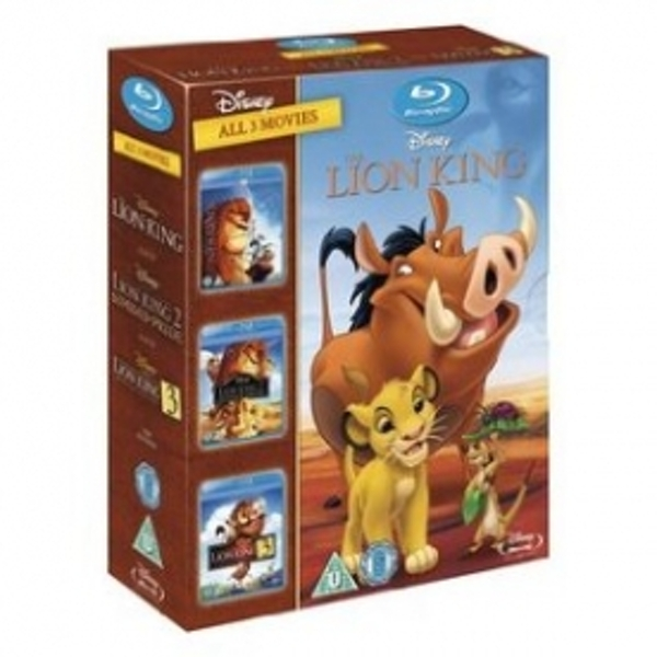 The Lion King Trilogy Blu-Ray