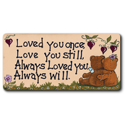 Loved You Once, Love You Still Smiley Magnet Pack Of 12