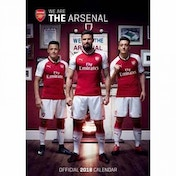 Arsenal F.C. Official 2018 Calendar