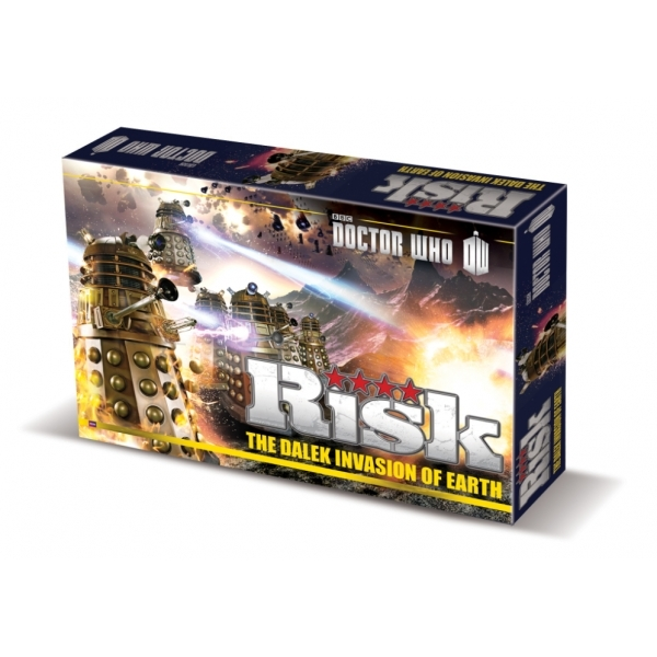 Risk Doctor Who Board Game