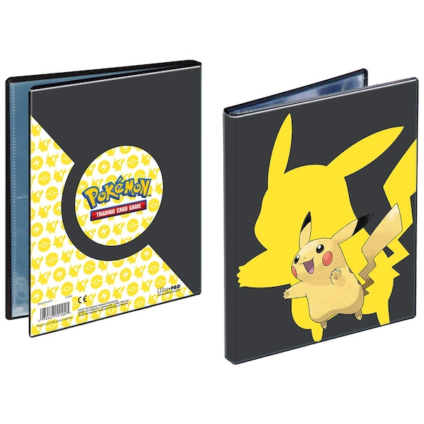 Ultra Pro Pokemon Pikachu 2019 4 Pocket Portfolio
