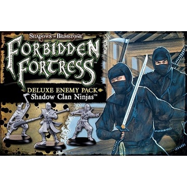 Shadows of Brimstone Shadow Clan Ninja Deluxe Enemy Pack Expansion