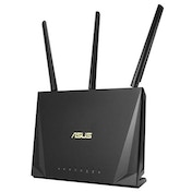 Asus (RT-AC85P) AC2400 (600+1733) Wireless Dual Band Gaming Cable Router Dual Core CPU MU-MIMO, USB 3.0 UK Plug