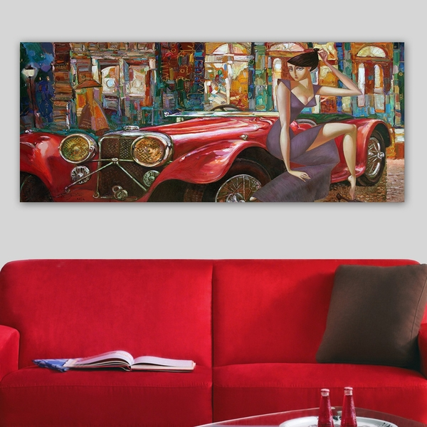 YTY646835707_50120 Multicolor Decorative Canvas Painting