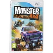 Ex-Display Monster Truck 4x4 Stunt Race Game Wii Used - Like New