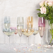 Pastel Assorted Glassware Champagne Saucer 275ml - Set of 4 | M&W - Image 4