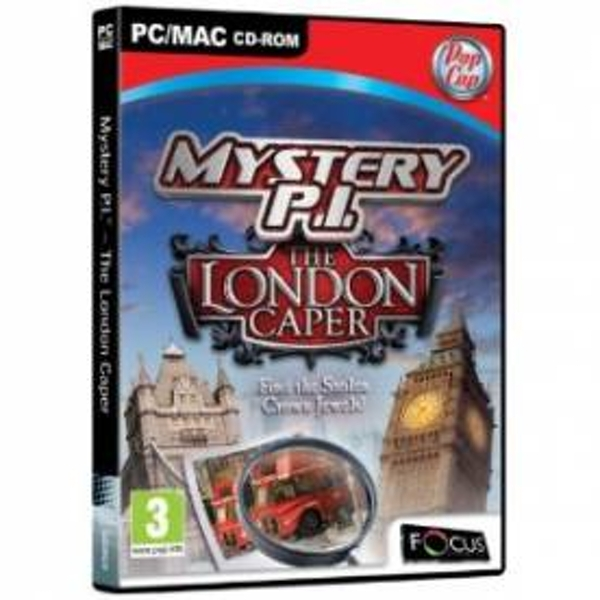 Mystery P.I. The London Caper Game PC