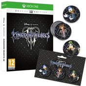Kingdom Hearts III Deluxe Edition Xbox One Game (+ Badge Set)
