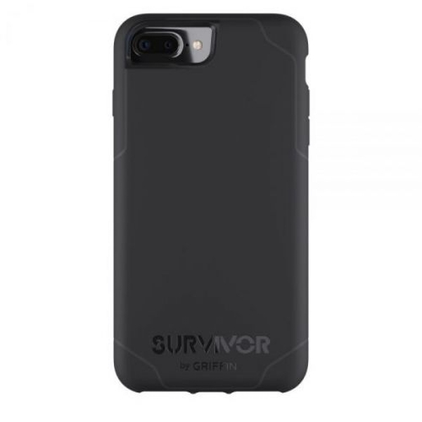 Griffin GB42815 Survivor Journey Case for iPhone7 Plus,6 Plus,6S Plus Black/Deep Grey