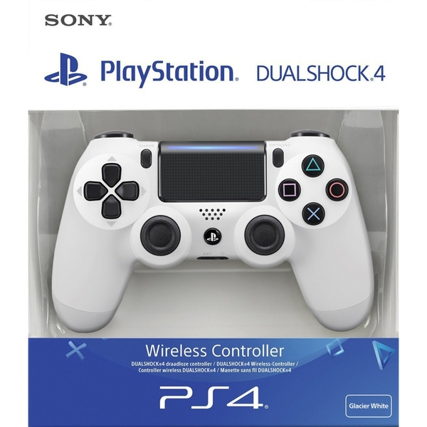 Sony Dualshock 4 V2 Glacier White Controller PS4 [Damaged Packaging]