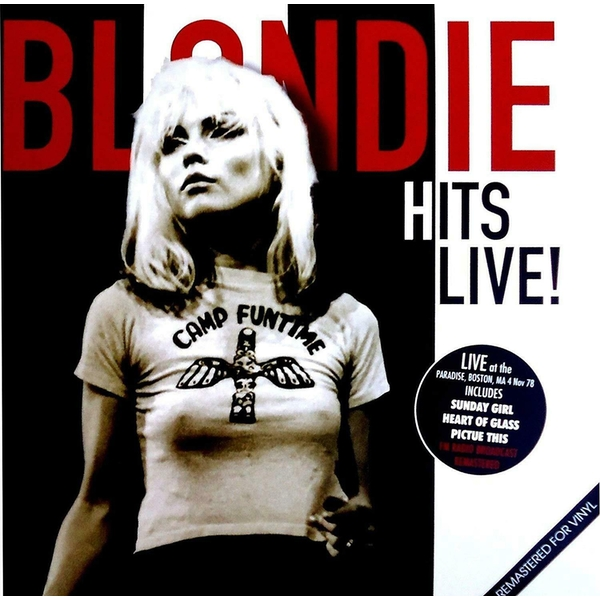 Blondie Hits Live! Vinyl