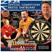 Harrows Official Competition Bristle Board