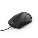"Hama ""MC-200"" Optical 3-Button Mouse, Cabled, black"