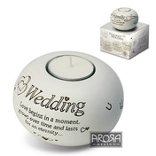 Said with Sentiment Tea Light Holders Wedding