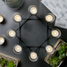 8 Tea Light Candle Holder | M&W Black - Image 2