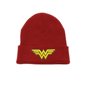 Wonder Woman - Logo Beanie Red