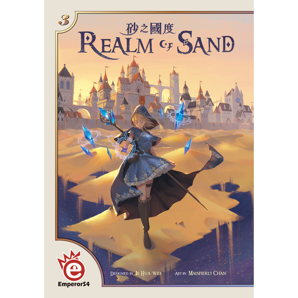 Realm of Sand Board Game