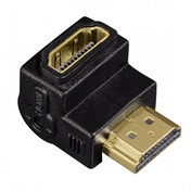 Hama HDMI M/F 270 � � (HDMI Cable Adapter, HDMI, MALE/FEMALE, BLACK)