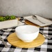 Bamboo Circle Placemats & Coasters | M&W - Image 2