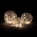 Fairy Light Crackle Glass Orbs - Set of 3 | M&W - Image 3