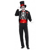 Day of the Dead Costume Medium One Colour