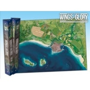 Wings of Glory Game Mat Coast Board Game