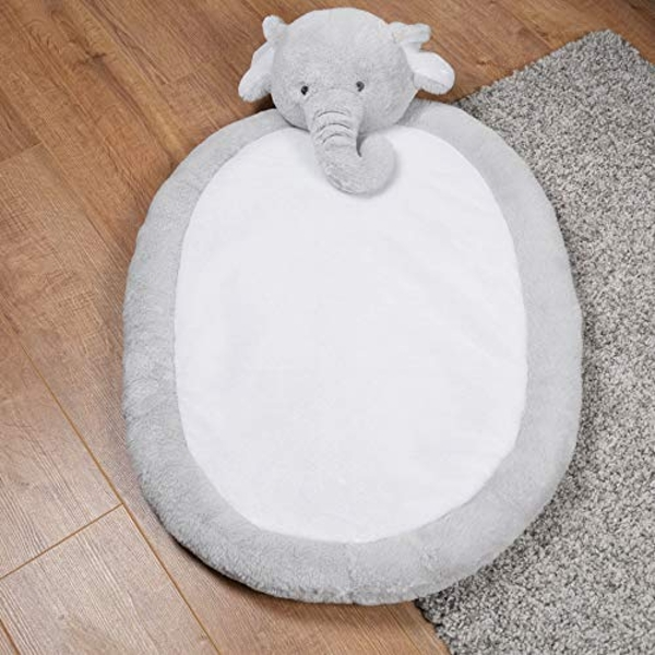 Bambino Soft Oval Playmat - Elephant