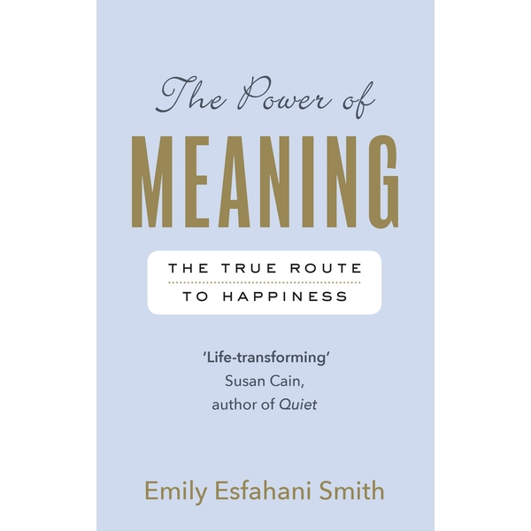 The Power of Meaning: The true route to happiness Paperback - 7 Sept. 2017