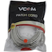 VCOM RJ45 (M) to RJ45 (M) CAT5e 15m Grey Retail Packaged Moulded Network Cable - Image 2