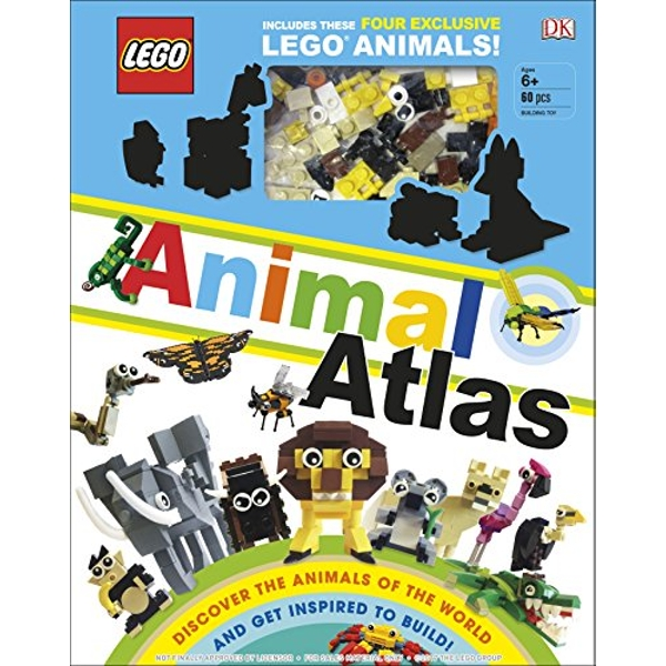 LEGO Animal Atlas with four exclusive animal models Hardback 2018