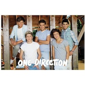 One Direction Summer Blue Maxi Poster