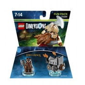 Ex-Display Gimli (Lord of the Rings) Lego Dimensions Fun Pack Used - Like New
