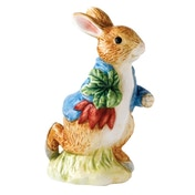 Beatrix Potter Peter Rabbit Running Carrying Radishes Classic Figure