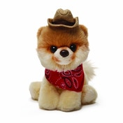 Gund Bitty Boo in Cowboy Hat