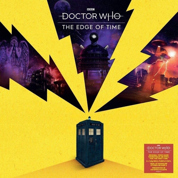 Richard Wilkinson - Doctor Who: The Edge of Time Purple Vinyl