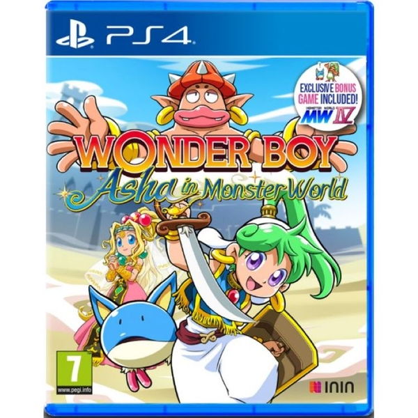 Wonder Boy Asha in Monster World PS4 Game