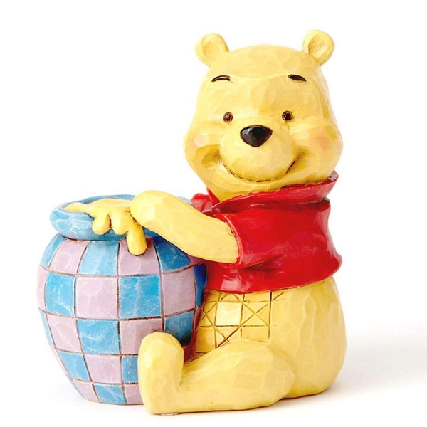 Winnie the Pooh with Honey Pot Disney Traditions Mini Figurine