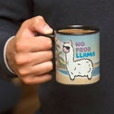 Thumbs Up! No Probllama Mug