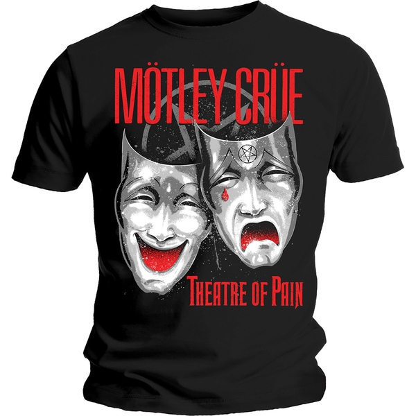 Motley Crue - Theatre of Pain Cry Unisex Small T-Shirt - Black