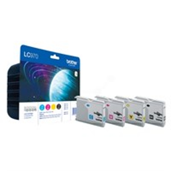 Brother LC-970VALBP Ink cartridge multi pack, 350pg   3x300pg, Pack qty 4