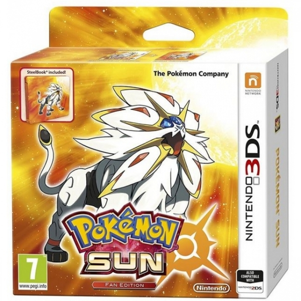 Ex-Display Pokemon Sun Fan Edition 3DS Game