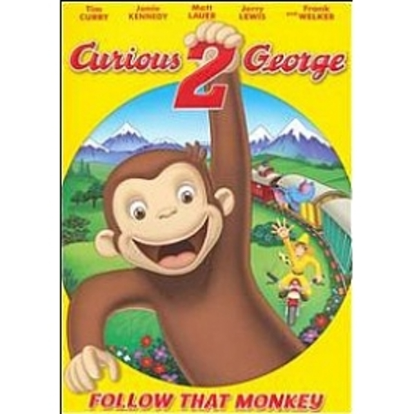Curious George 2: Follow That Monkey DVD