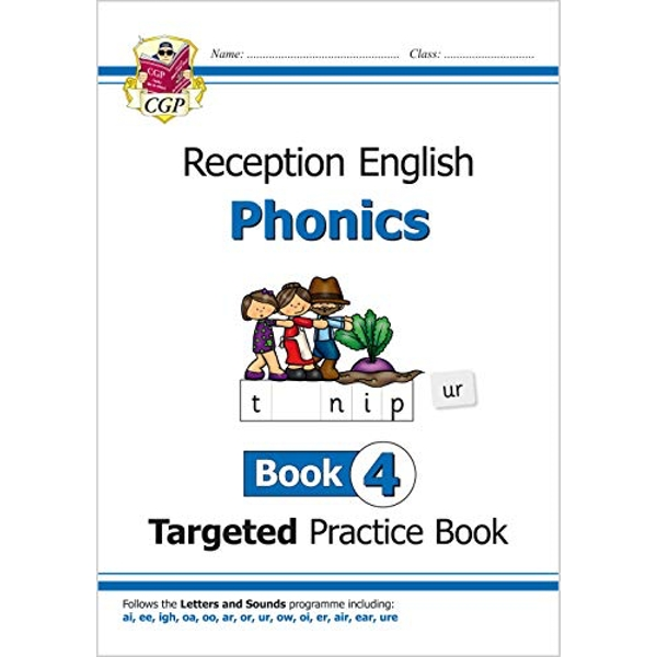 English Targeted Practice Book: Phonics - Reception Book 4  Paperback / softback 2018