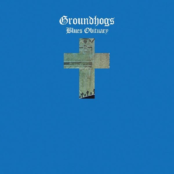 Groundhogs ‎– Blues Obituary Blue Vinyl