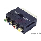 Scart to YUV & RCA Composite Adapter
