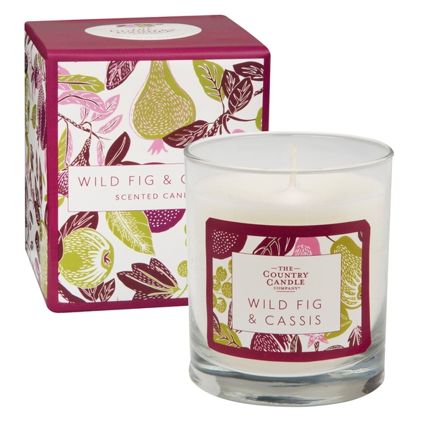 Wild Fig & Cassis (Fragrant Orchard Collection) Glass Candle
